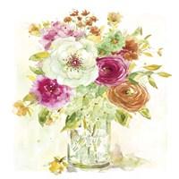 Garden Jar IV Fine Art Print