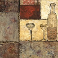 Wine for Two I Fine Art Print