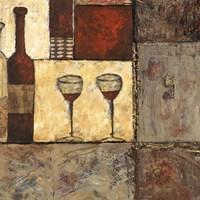 Wine for Two II Fine Art Print
