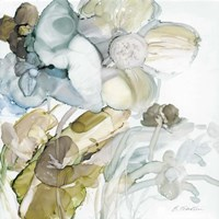 Seaglass Garden III Fine Art Print