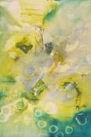 Turquoise Flow II Framed Print