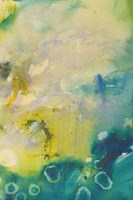 Turquoise Flow III Framed Print