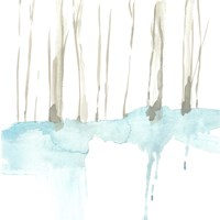 Snow Line II Fine Art Print