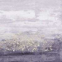Amethyst Glitter I Framed Print