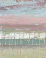 Dusted Horizon I Framed Print