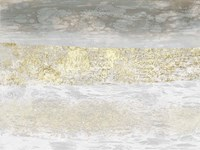 Gilded Textures II Framed Print