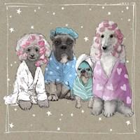Fancypants Wacky Dogs I Fine Art Print
