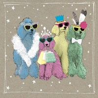Fancypants Wacky Dogs II Fine Art Print