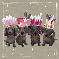 Fancypants Wacky Dogs VII Fine Art Print