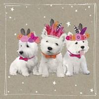 Fancypants Wacky Dogs VIII Fine Art Print