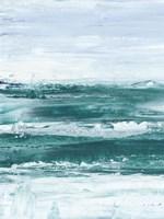 Choppy Waters I Framed Print