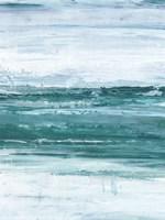 Choppy Waters II Framed Print