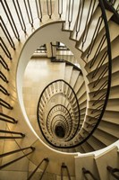 Staircase Spiral Fine Art Print