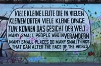 Berlin Wall 12 Fine Art Print