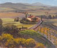 Nostalgic Tuscany I Fine Art Print