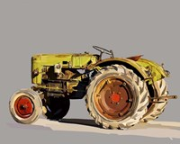 Vintage Tractor VI Fine Art Print