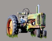 Vintage Tractor VII Fine Art Print