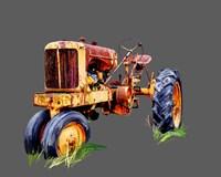 Vintage Tractor IX Fine Art Print