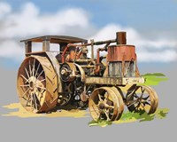 Vintage Tractor XII Fine Art Print