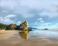 Oregon Coast III Fine Art Print