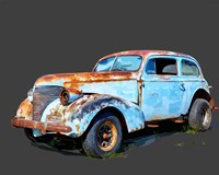 Rusty Car I Fine Art Print