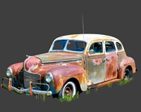 Rusty Car II Fine Art Print