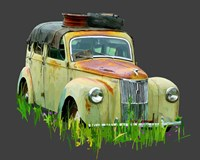 Rusty Car III Fine Art Print