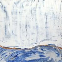 Blue Highlands II Framed Print