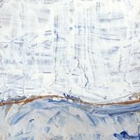 Blue Highlands IV Framed Print