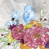 Bloom & Fly IV Fine Art Print