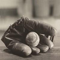 Baseball Nostalgia I Fine Art Print