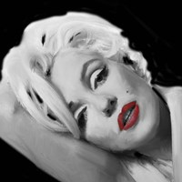 Marilyn's Lips Fine Art Print