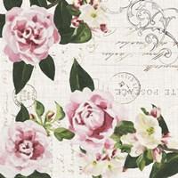Ephemeral Roses I Framed Print