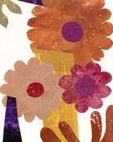 Fiesta Floral I Framed Print