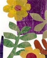 Fiesta Floral III Framed Print