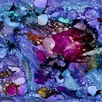 Purple Outburst I Fine Art Print