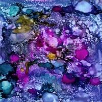 Purple Outburst II Fine Art Print