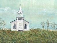 Country Church I Framed Print