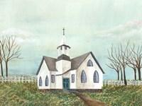 Country Church III Framed Print