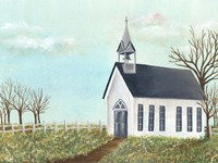 Country Church IV Fine Art Print