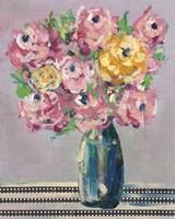 Feisty Floral I Framed Print