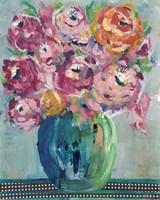 Feisty Floral II Framed Print