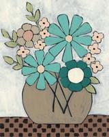 Mid Summer Bouquet II Framed Print