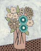 Mid Summer Bouquet III Framed Print