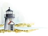 Ocean Beacon I Fine Art Print