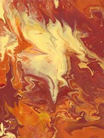 Nomadic Blaze I Framed Print