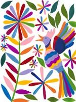 Otomi Bird II Framed Print
