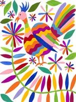 Otomi Bird III Framed Print