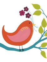 Cute Bird I Framed Print