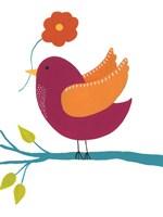 Cute Bird II Framed Print